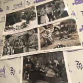 Mixed Set of 5 Original 10×8 inch Western Movie Press Photo Lobby Cards [G05]