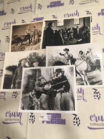 Mixed Set of 5 Original Western Movie Press Photo Lobby Cards [G09]