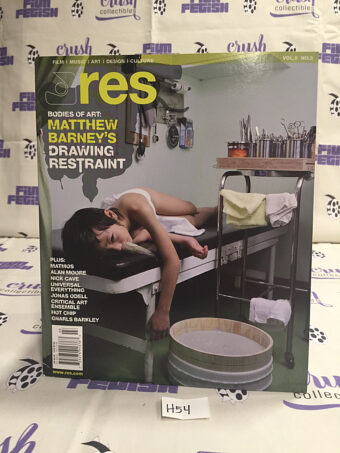 RES Magazine (Vol. 9 No. 3) Matthew Barney, Matmos, Alan Moore, Gnarls Barkley [H54]