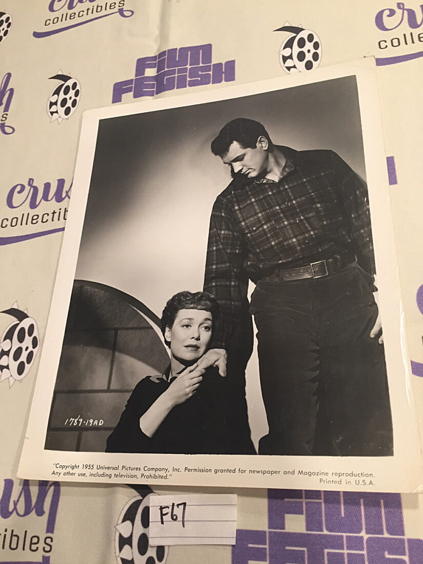 Jane Wyman, Rock Hudson in All That Heaven Allows (1955) Original 8×10 inch Publicity Press Photo [F67]