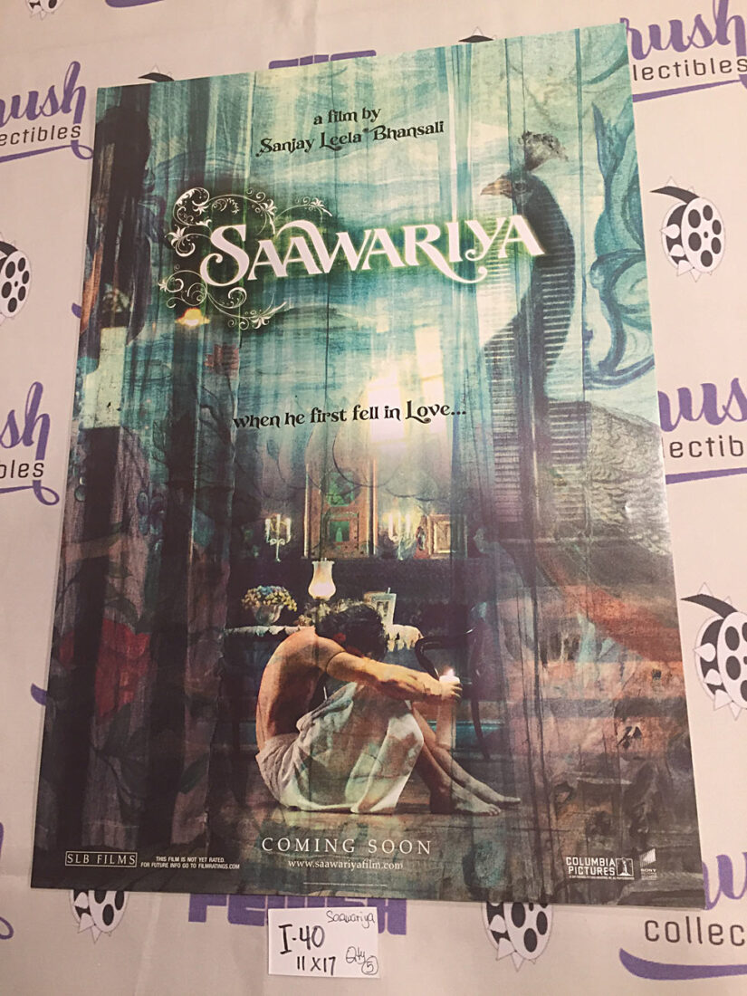 Saawariya 11×17 Original Promotional Movie Poster [I40]