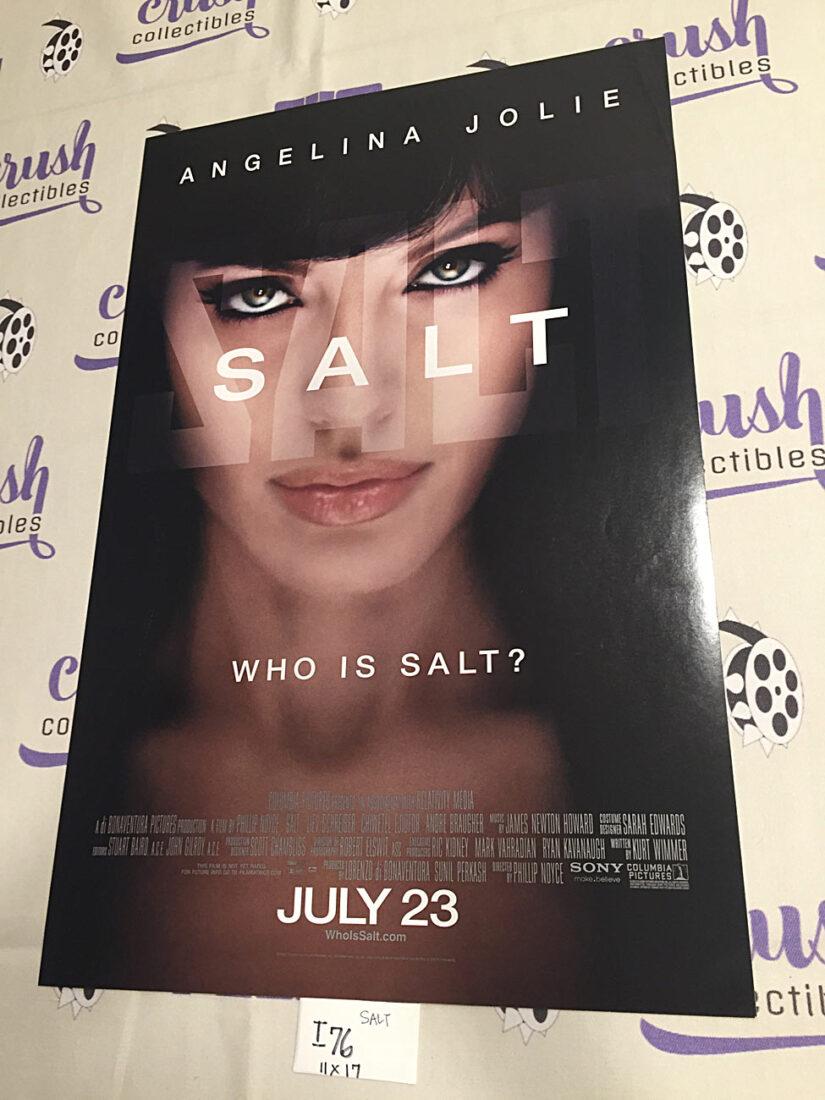 Salt 11×17 Original Promotional Movie Poster, Angelina Jolie [I76]