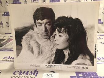 The Savage Innocents Original 8×10 inch Publicity Press Photo – Anthony Quinn, Yoko Tani [G72]