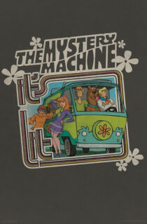 Scooby Doo: Mystery Machine 22 x 34 inch Television Series Poster