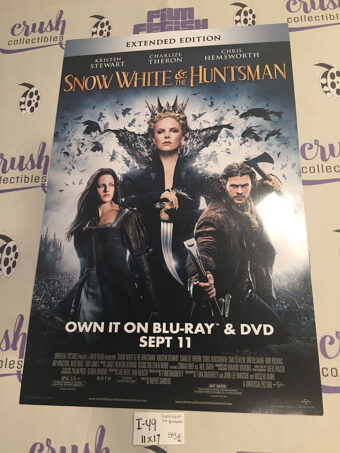 Snow White and the Huntsman Original 11×17 inch Promotional Home Video Movie Poster [I49]
