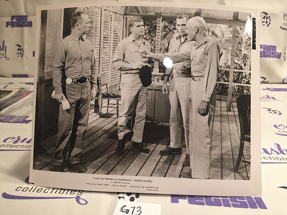 South Pacific Original 10×8 inch Publicity Press Lobby Card Photo – Tom Laughlin [G73]