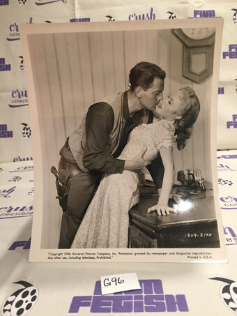 Star in the Dust Original 10×8 inch Publicity Press Photo Lobby Card – John Agar, Mamie Van Doren [G96]