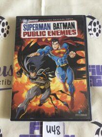 Superman Batman Public Enemies Animated Original Movie DVD Edition [U48]