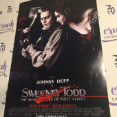 Sweeney Todd: The Demon Barber of Fleet Street 13×20 inch Original Promotional Movie Poster, Johnny Depp [I57]