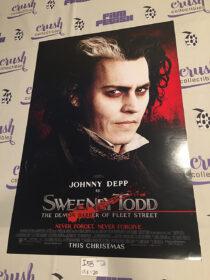 Sweeney Todd: The Demon Barber of Fleet Street 13×20 inch Original Promotional Movie Poster, Johnny Depp Portrait [I58]