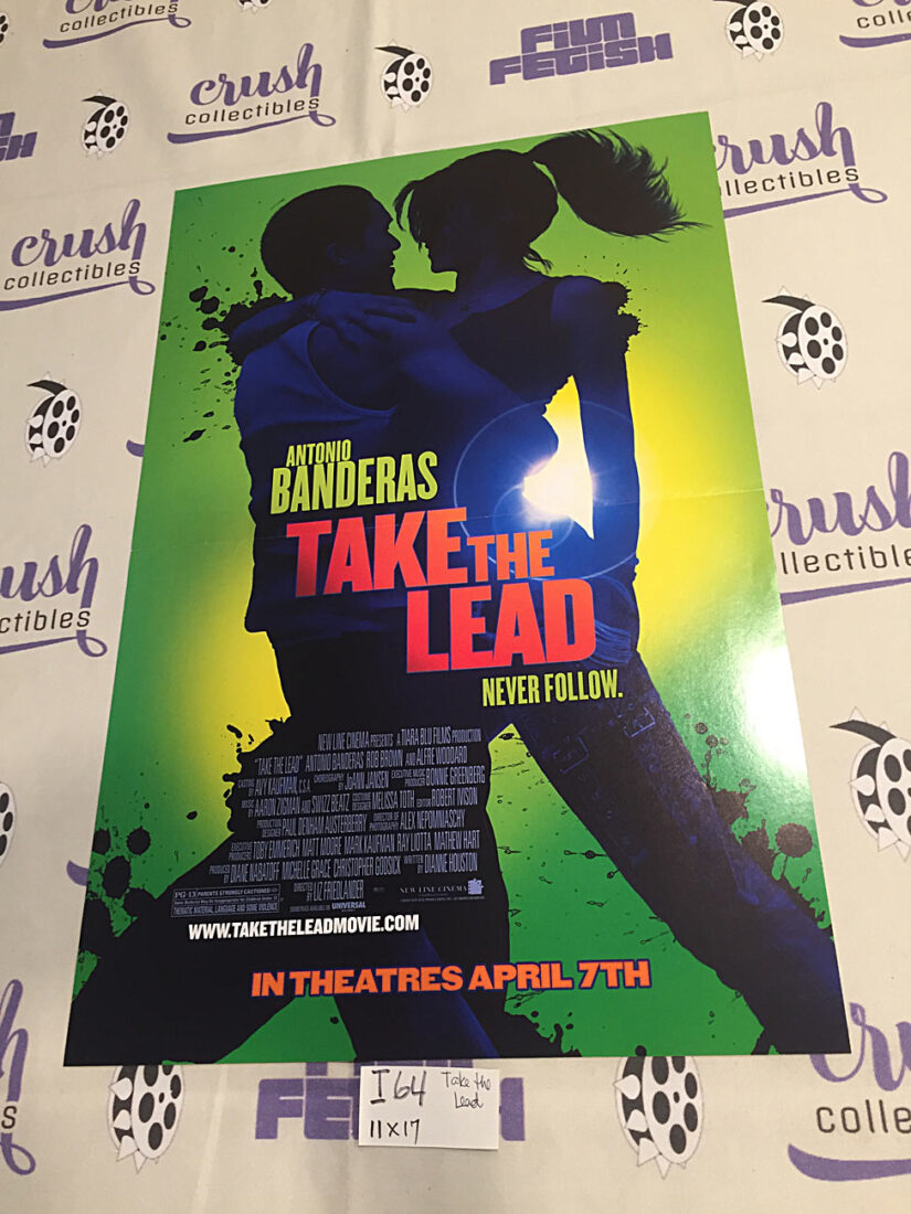 Take the Lead Original 11×17 inch Movie Poster, Antonio Banderas [I64]