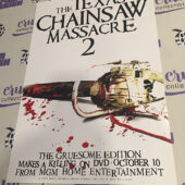 The Texas Chainsaw Massacre 2 Original 12×18 inch Promotional Movie Poster [I65]