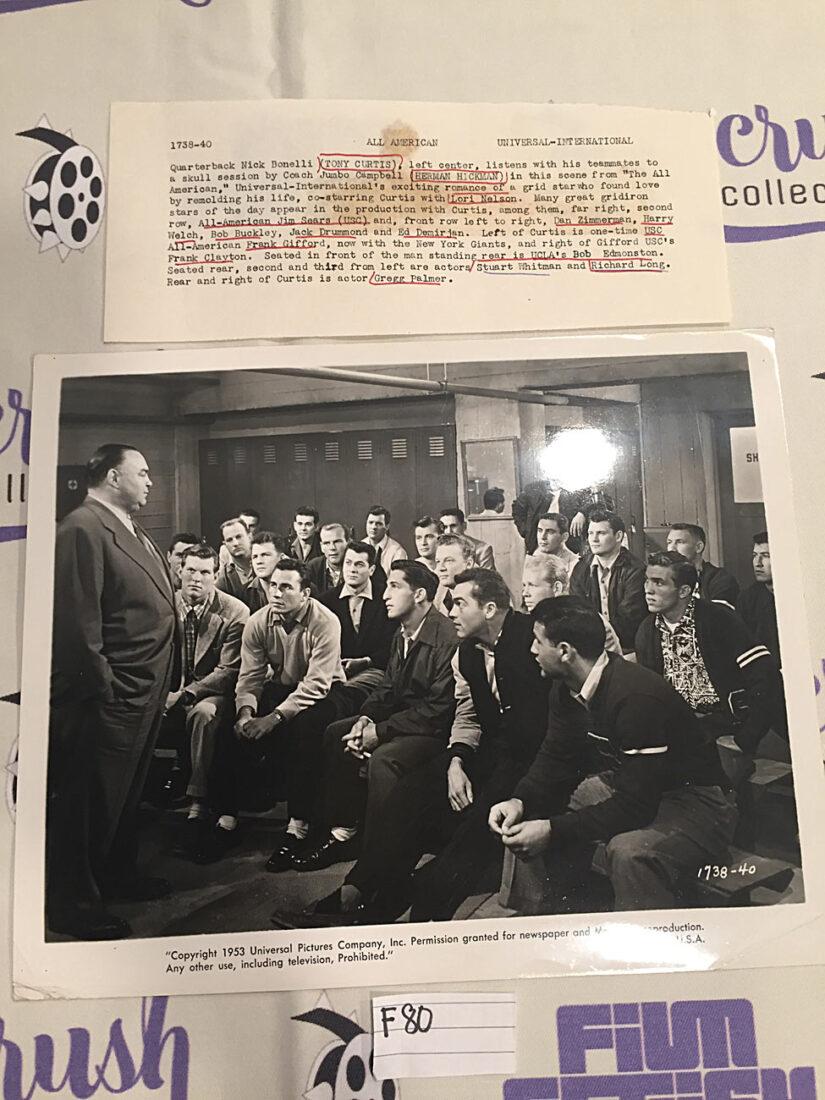 The All American Original 10×8 inch Press Photo – Tony Curtis [F80]