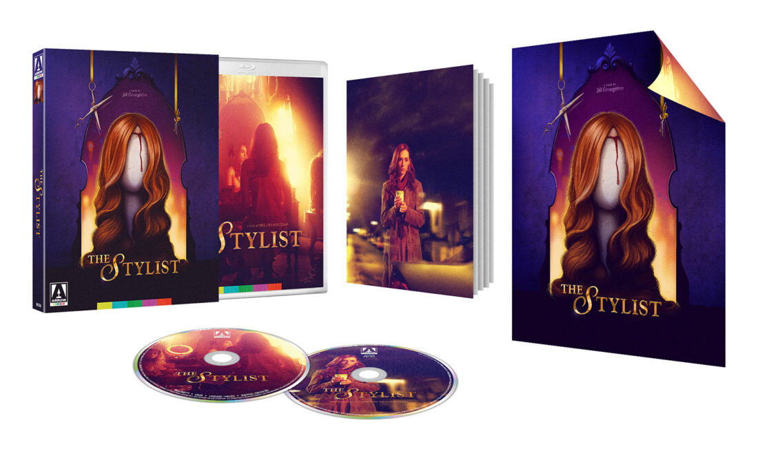 The Stylist Special Edition Blu-ray + Soundtrack CD with Slipcover & Collector's Booklet
