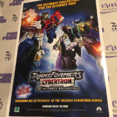 Transformers Cybertron / Transformers: Animated Original 15×22 inch Promotional Double-Sided TV Series Poster [I73]