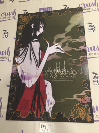 xxxHolic the Movie: A Midsummer Night's Dream / Tsubasa: The Movie Double-Sided 11×17 inch Promotional Poster [I39]