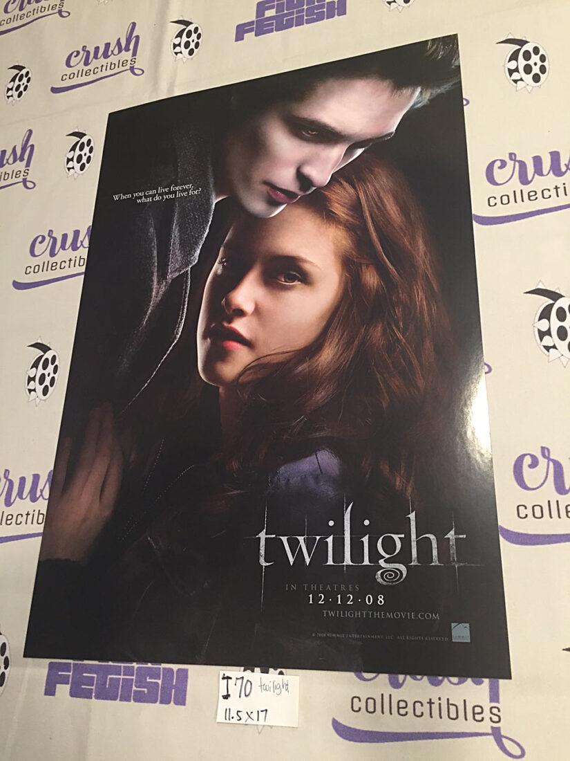 Twilight 11×17 inch Promotional Movie Poster, Kristen Stewart, Robert Pattinson [I70]