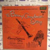 The Benny Goodman Story Volume 1 Original Motion Picture Soundtrack Vinyl Decca Records [H71]