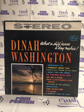 Dinah Washington What A Difference A Day Makes Vinyl Mercury Records [H68]