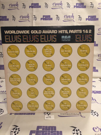 Elvis Presley Worldwide Gold Award Hits Parts 1 and 2 Vinyl 2-Disc [H79]