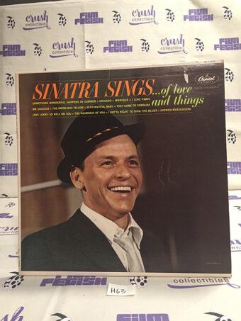 Frank Sinatra Sinatra Sings…. Of Love and Things Vinyl [H63]