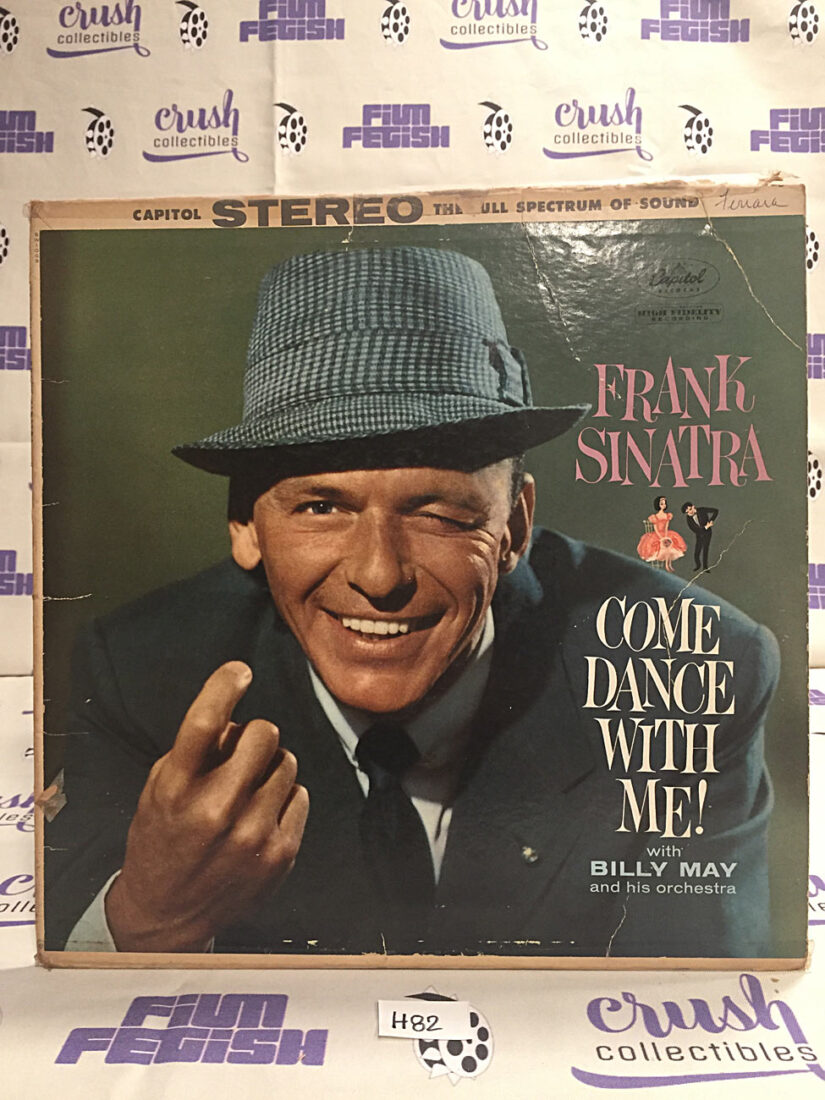 Frank Sinatra Come Dance With Me STEREO Vinyl Edition – Billy May Orchestra [H82]