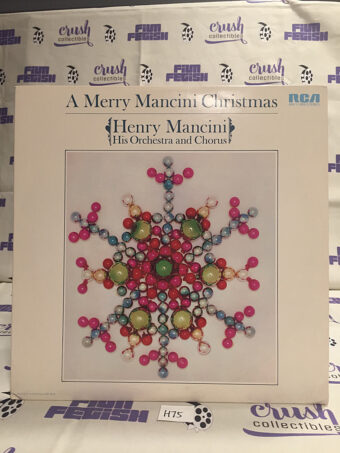 A Merry Mancini Christmas Henry Mancini His Orchestra and Chorus Vinyl [H75]