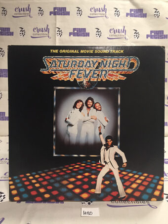 Saturday Night Fever The Original Movie Soundtrack 2-LP Vinyl Edition (1977) [H80]