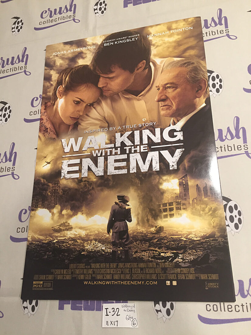 Walking with the Enemy 11×17 inch Promotional Movie Poster, Ben Kingsley [I32]