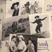Set of 5 Original Western Movie Press Photo Lobby Cards [F84]