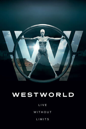 Westworld: Live Without Limits 24 X 36 inch HBO Television Series Poster
