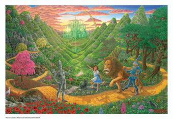 Wizard of Oz by Bob Masse 32×22 inch Fairy Tale Fantasy Art Poster