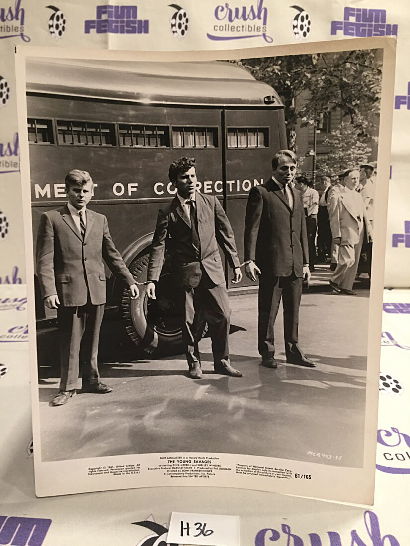The Young Savages (1961) Original 8×10 inch Press Publicity Photo [H36]