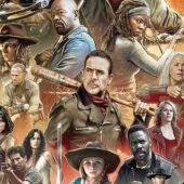 AMC, Skybound and Image Comics reveal cover for The Art of AMC's The Walking Dead Universe hardcover book
