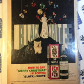 Black and White Scotch Vintage Magazine Advertisement Page [354]