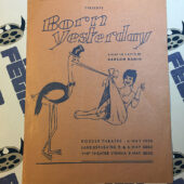 Born Yesterday Official Program – American Community Theatre – Directed by Alfred G. Brooks [343]