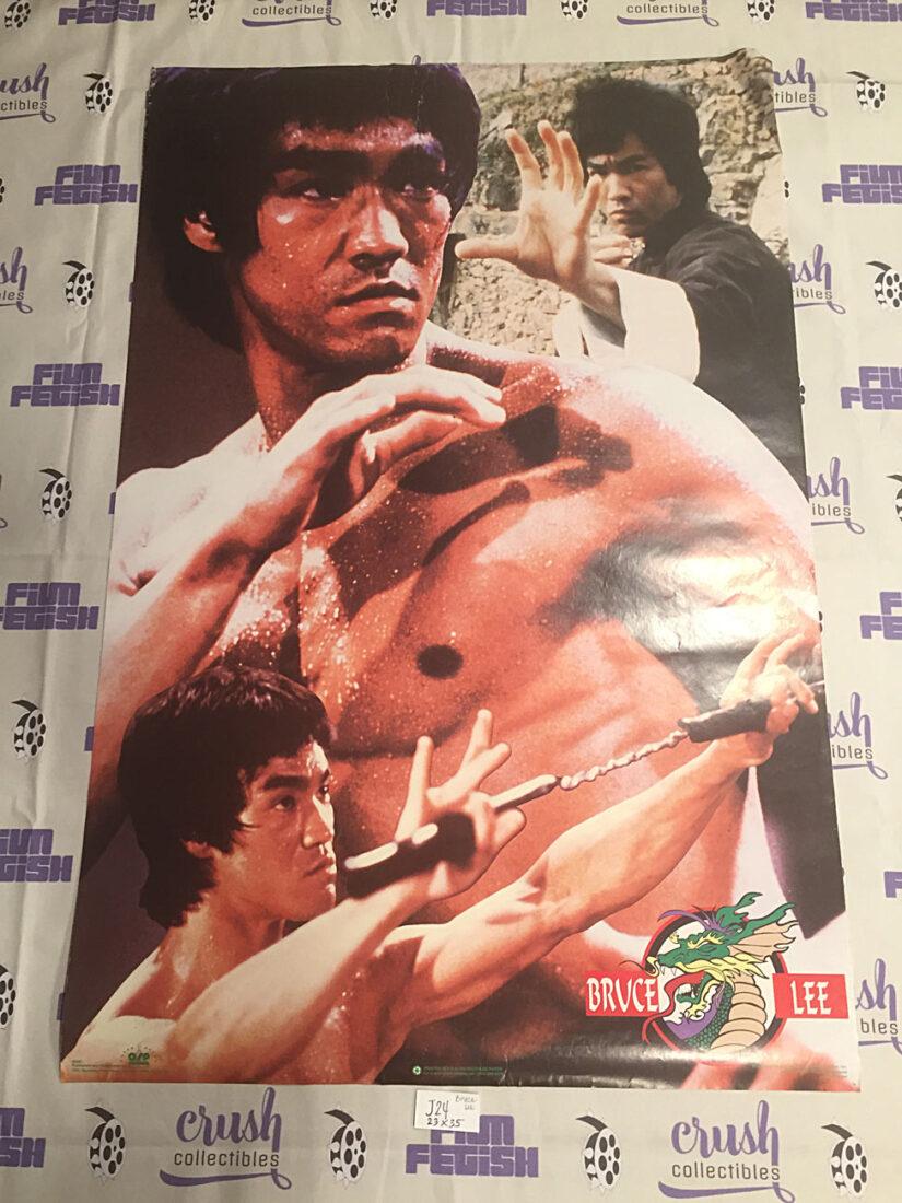 Bruce Lee Enter the Dragon 23×35 inch Tribute Poster OSP Publishing [J24]