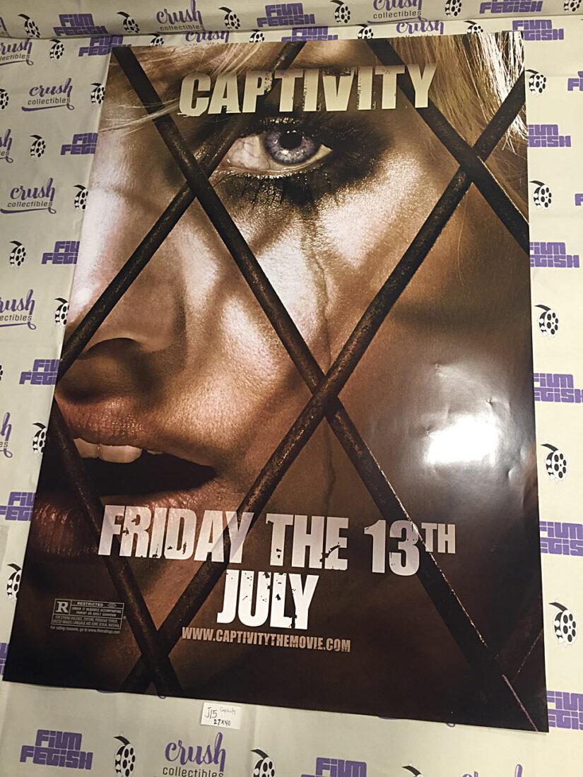 Captivity 27×40 inch Original Double-Sided Movie Poster (2007) – Elisha Cuthbert [J15]
