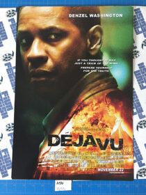 Deja Vu (2006) Original 13×19 inch Promotional Movie Poster, Tony Scott, Denzel Washington