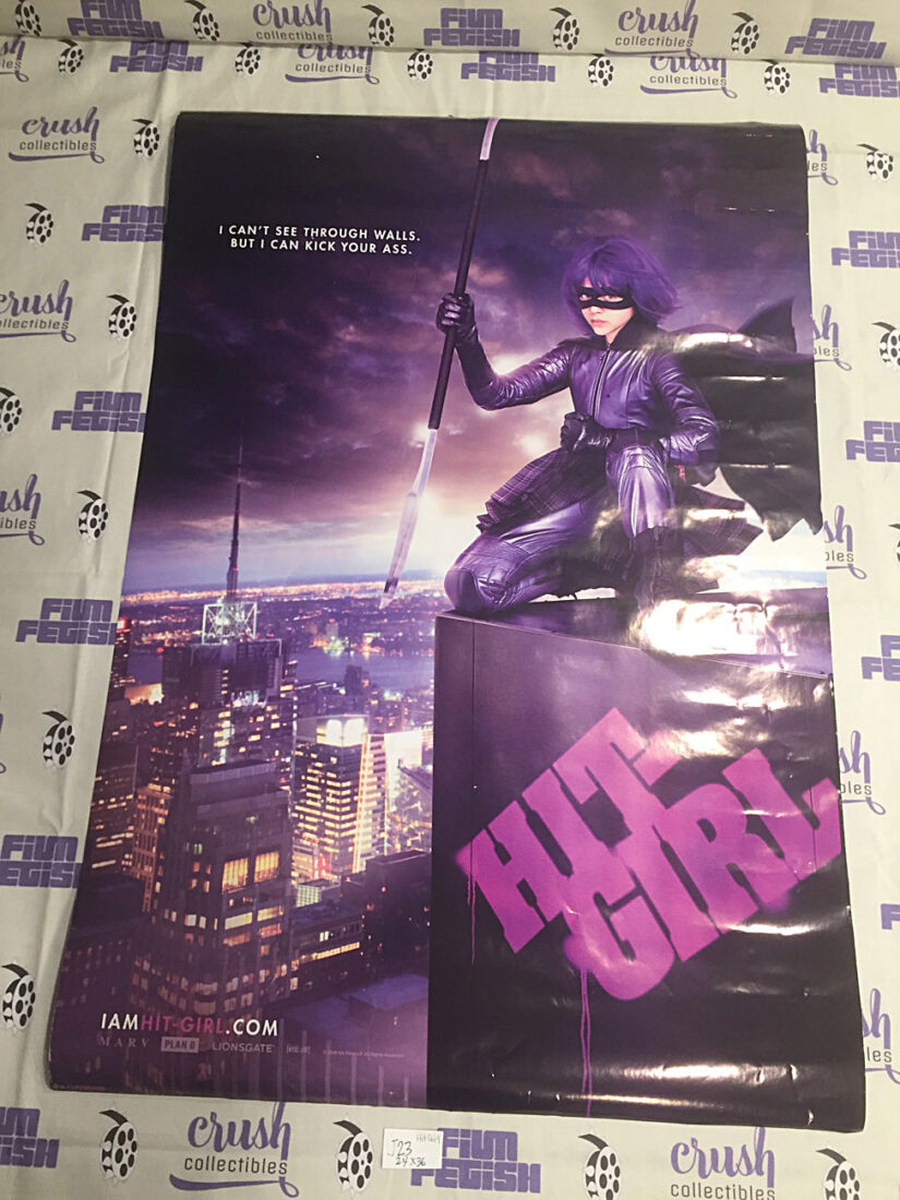 Kick-Ass 24×36 inch Promotional Movie Poster – Hit Girl Character [J23]