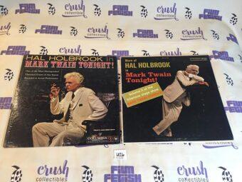 Hal Holbrook Mark Twain Tonight + More of… Volume II Set of Both Vinyl Editions [U26]