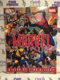 Marvel Chronicle: A Year by Year History (2008) 17×22 inch Promotional Graphic Novel Comic Poster [J05]