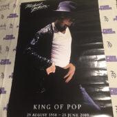 Michael Jackson: King of Pop, August 29, 1958 – June 25, 2009 Commemorative 24×36 inch Music Poster [J22]