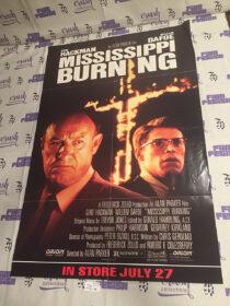 Mississippi Burning (1989) Original 25×38 inch Promotional Movie Poster [J25]