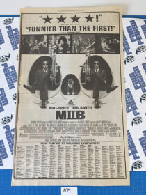 Men in Black II and Like Mike Original Full Page Newspaper Ad (New York Times July 19, 2002) [A34]