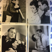 Set of 17 Assorted Rare Original Lobby Cards and Press Photos from Classic Movies [PHO12180]