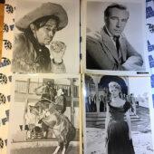 Set of 16 Assorted Rare Original Lobby Card Press Photos from Western Movies [PHO12183]