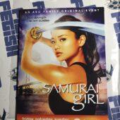 Samurai Girl Promotional Card with Temporary Tattoo Graphics, Jamie Chung [9236]