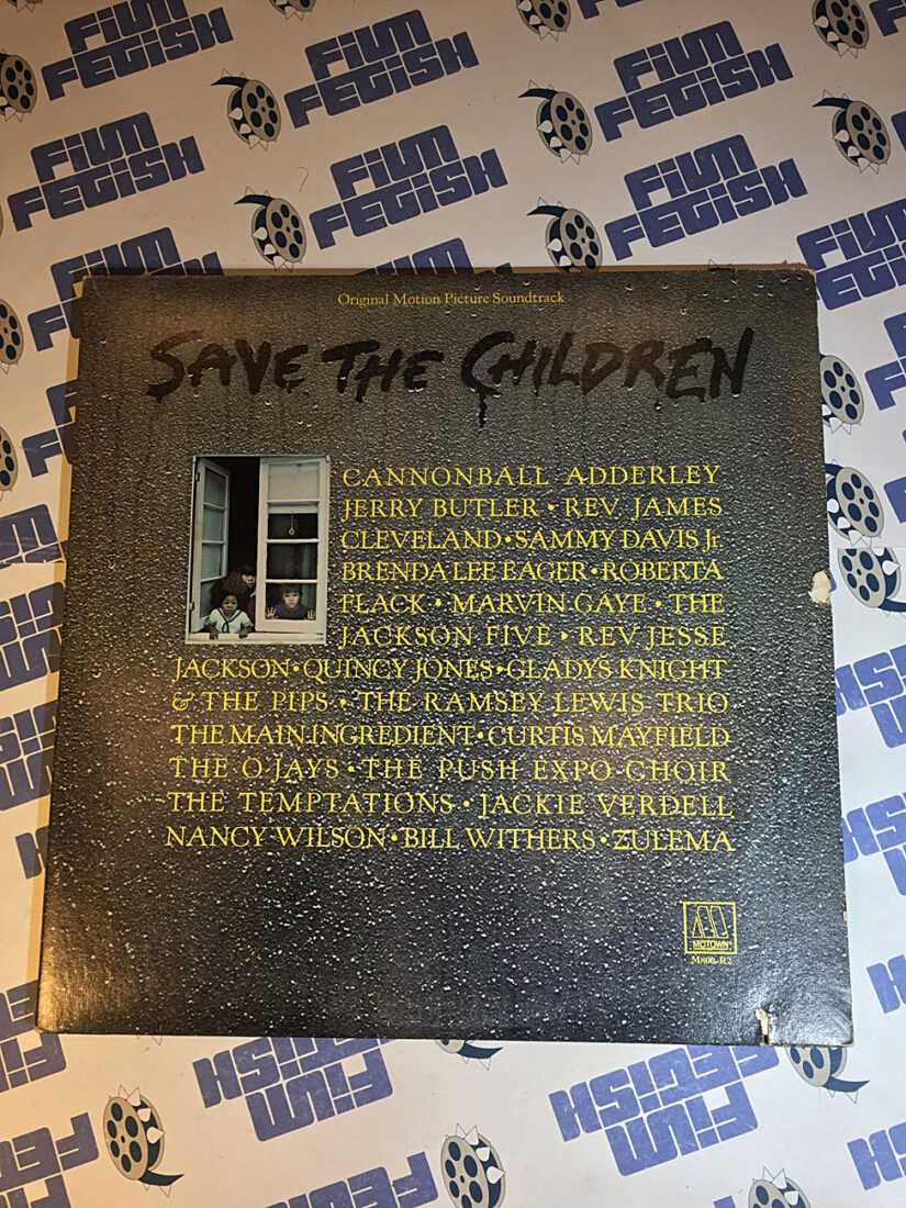 Save the Children Original Motion Picture Soundtrack Vinyl Edition Motown Records