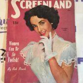 Screenland Magazine (June 1951) Elizabeth Taylor Cover [190123]